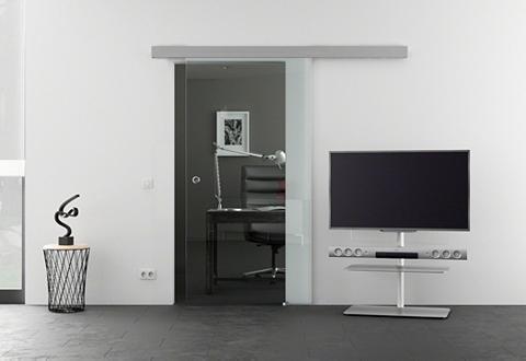 Stiklinės stumdomos durys »Eco« klar s...