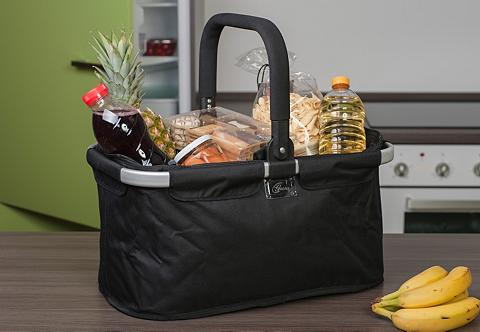 GENIUS Pirkinių krepšys juoda spalva »Falko« ...