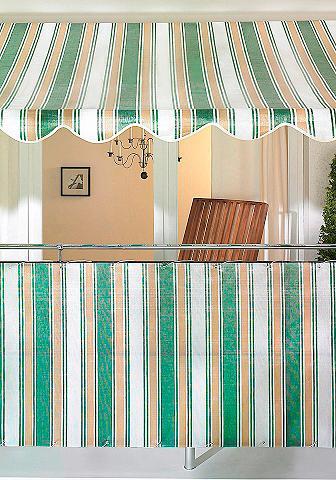 Balkono sienelė beige/grün (in 2 Höhen...