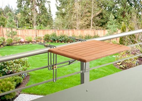 Pakabinamas balkono stalas »Holz« klap...
