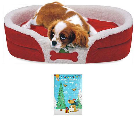 HEIM Šuns guolis »Weihnachtsset Hund« Bx L:...