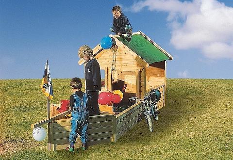 KARIBU Žaislinė valtis »Pirat« dėl žaidimų na...