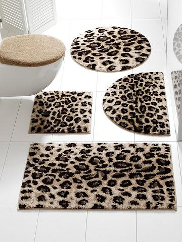 GRUND Vonios kilimėlis im Leo-Look