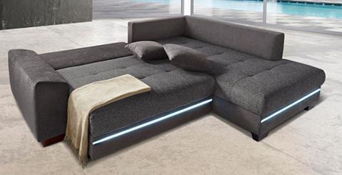 Kampinė sofa su Apšvietimas patogi su ...