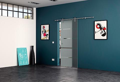 Stiklinės stumdomos durys »Edelstahl-R...