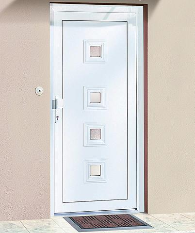 Plastikinės lauko durys »Schweiz« dury...
