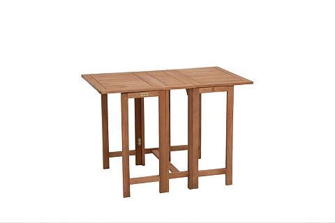 MERXX Sodo stalas »Holz« Eukalyptusholz klap...