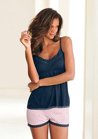 LASCANA Subtilus pižama su taškuotas Šortai & ...