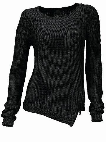 Megztinis apvalia iškirpte asymetrisch...
