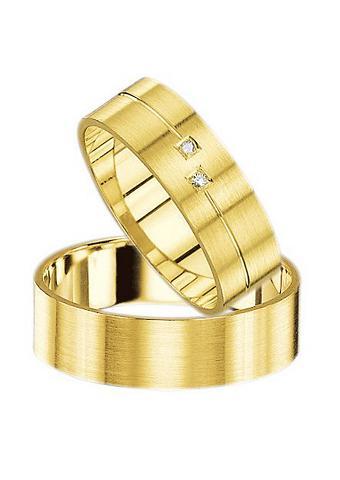 FIRETTI Vestuvinis žiedas su Gravur »Seidenmat...