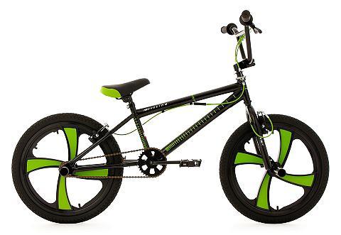 BMX dviratis 20 Zoll schwarz-grün »Dig...
