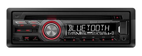 1-DIN cd-automagnetola su Bluetooth