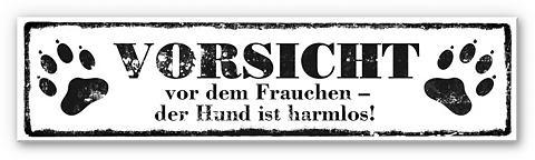 Hartschaum paveikslas «Vorsicht vor de...