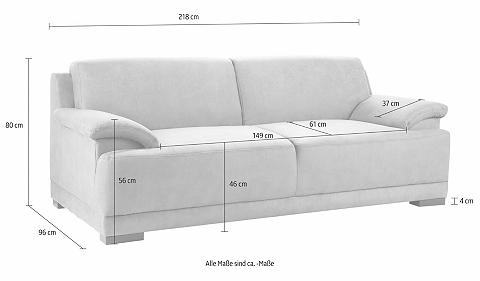 HOME AFFAIRE Trivietė sofa »Telos«