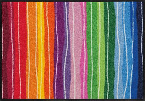 SALONLOEWE Durų kilimėlis »Wavy Lines« rechteckig...