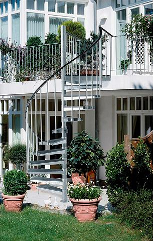Lauko laiptai »Gardenspin«