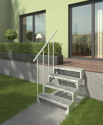 DOLLE Grotelės laiptams »Gardentop 100 cm Br...