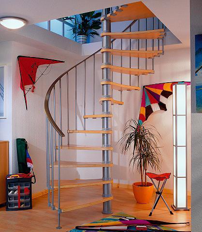 DOLLE Sraigtiniai-spiraliniai laiptai »Valen...