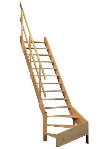 STARWOOD Kompaktiški laiptai »Korfu« offene kel...
