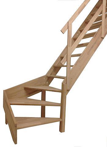 STARWOOD Kompaktiški laiptai »Rhodos« offene ke...