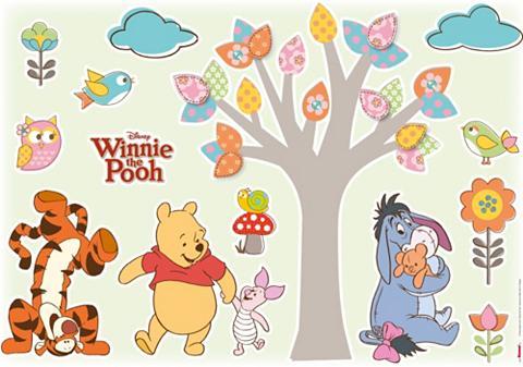 Sienų lipdukai »Winnie Pooh Nature Lov...