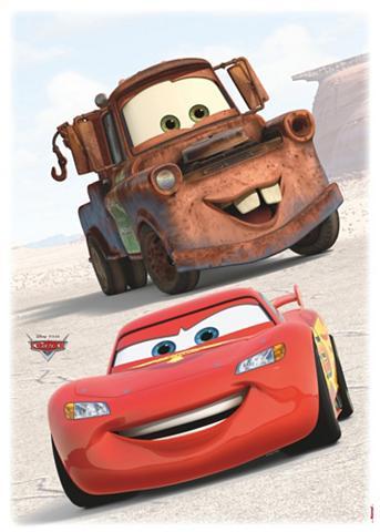 KOMAR Sienų lipdukai »Cars Friends« 50/70 cm...
