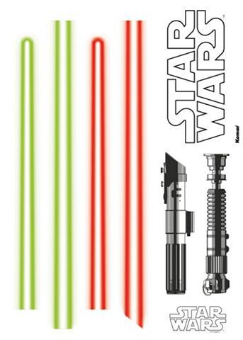 Sienų lipdukai »Star Wars Lightsaber« ...