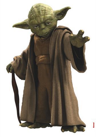 Sienų lipdukai »Star Wars Yoda« 70/100...