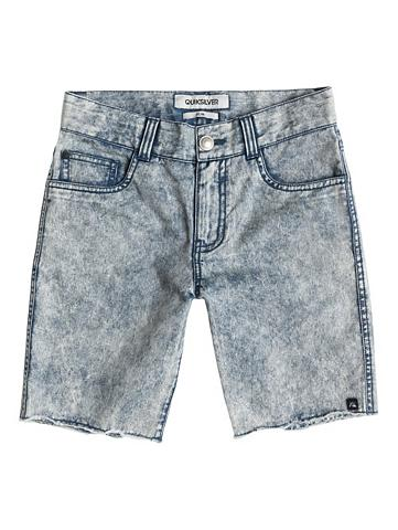 5-Pocket-Shorts »Le Fiver Acid Wash Aw...