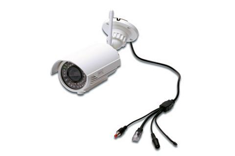 W-LAN Plug&View IP-Kamera dėl den lauk...