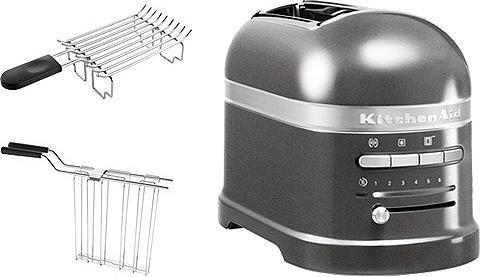 KitchenAid Toaster Artisan 5KMT2204EMS 2 kurze Sc...
