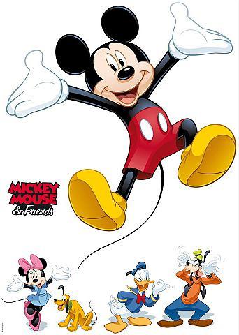 KOMAR Sienų lipdukai »Mickey and Friends« 50...