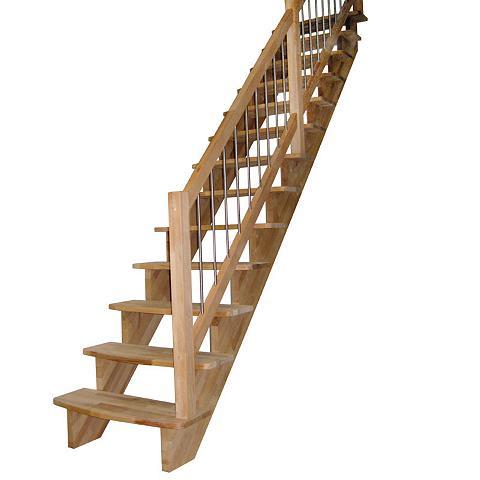 STARWOOD Medžio masyvo laiptai »Lindos« B: 100 ...