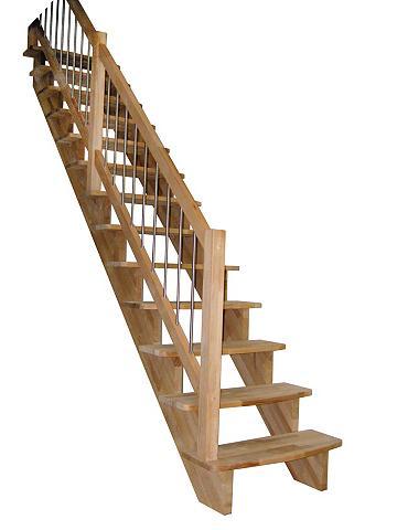 Medžio masyvo laiptai »Lindos« B: 100 ...