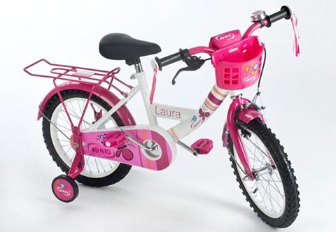 4UNIQ Vaikiškas dviratis 16 Zoll 1 Gang »Lau...