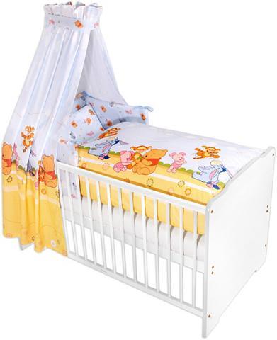 7-tlg. vaikiškos lovos komplektas Baby...