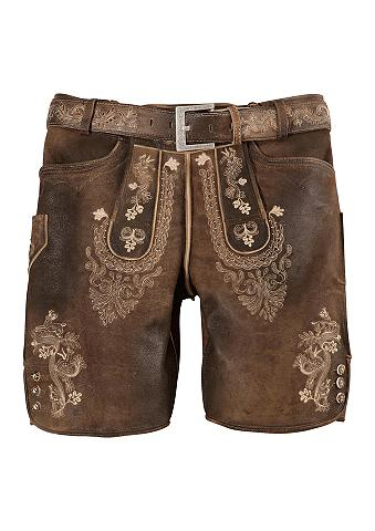 Herren odinės kelnės trumpa su apvadas...