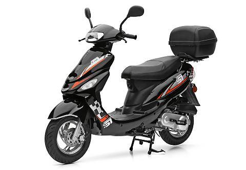 Rinkinys: Motorroller ir Topcase 49-cc...