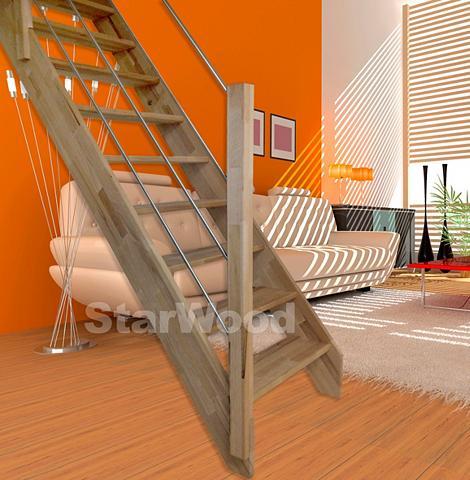 Kompaktiški laiptai »Rhodos« offene ke...