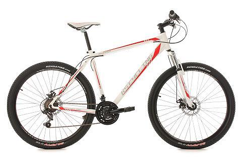 Kalnų dviratis 275 Zoll weiß-rot 21-Ga...