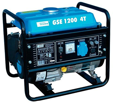 Güde Elektros generatorius »GSE 1200 4...