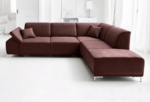 DOMO COLLECTION Kampinė sofa patogi su Sitztiefenverst...