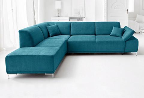 Kampinė sofa patogi su Sitztiefenverst...