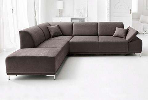 DOMO COLLECTION Kampinė sofa patogi su Sitztiefenverst...