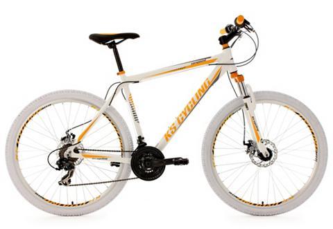 KS CYCLING Kalnų dviratis 275 Zoll weiß 21 Gang-K...
