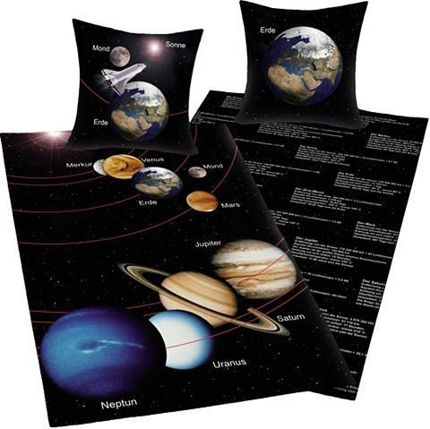 YOUNG COLLECTION Patalynės užvalkalai »Sonnensystem«