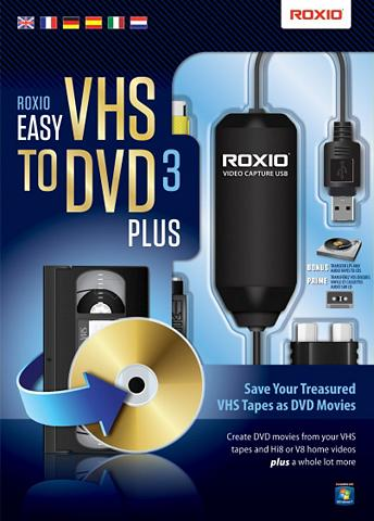 COREL Software »Easy VHS to DVD 3 Plus (ML) ...