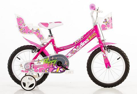 DINO Vaikiškas dviratis Mädchen 14 Zoll 1 G...