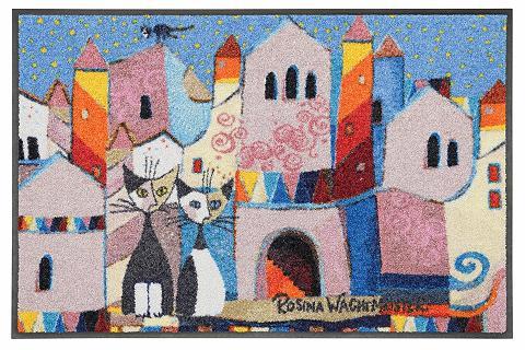ROSINA WACHTMEISTER Durų kilimėlis »Little Town« rechtecki...