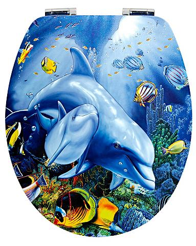 WC-dangtis »Delphin« su Lėto nusileidi...